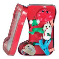Geschenkbox Weihnachtsstiefel
